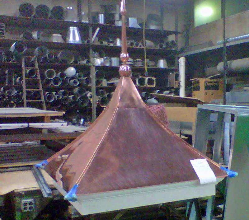 Boudreaus copper cupola