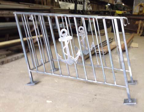 Boudreaus custom rails with anchor