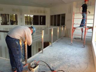 Boudreaus railing fabrication
