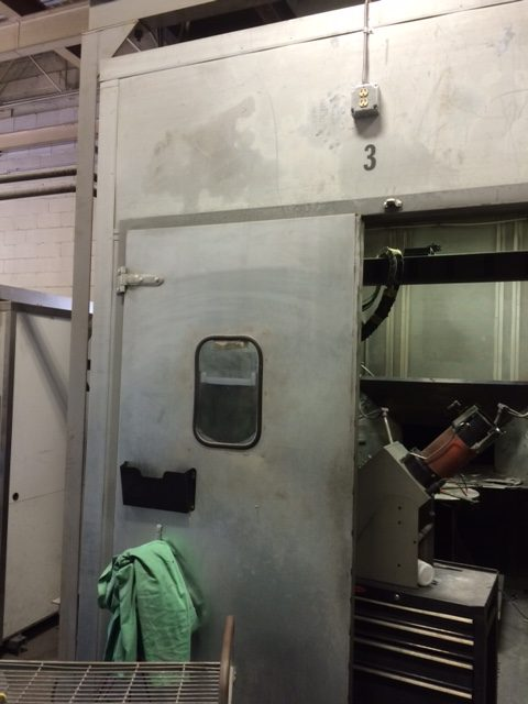 Boudreaus spray booth