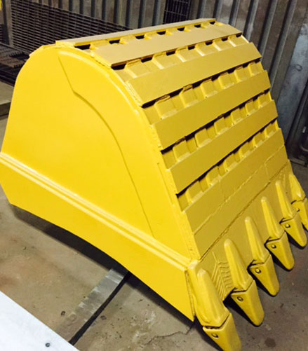 Boudreaus steel bucket
