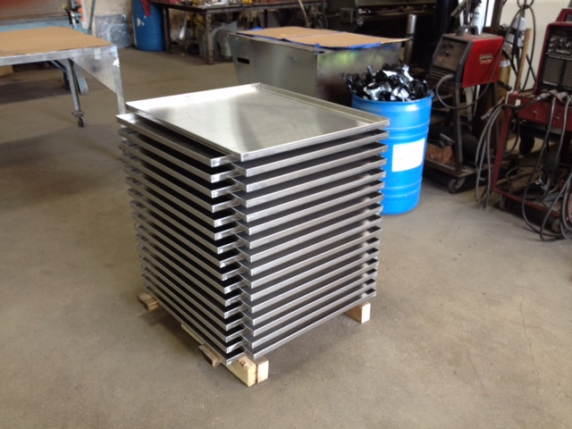 Boudreaus stainless trays