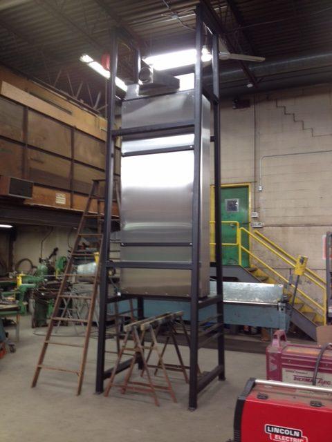 Boudreaus vertical oven